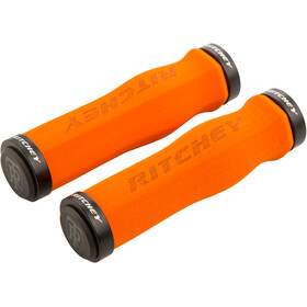 Ritchey WCS Ergo True Grip Manopole Lock-On, orange